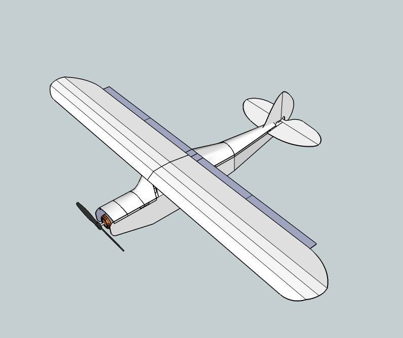 WIP: Swappable Piper PA-12 Super Cruiser   FliteTest Forum