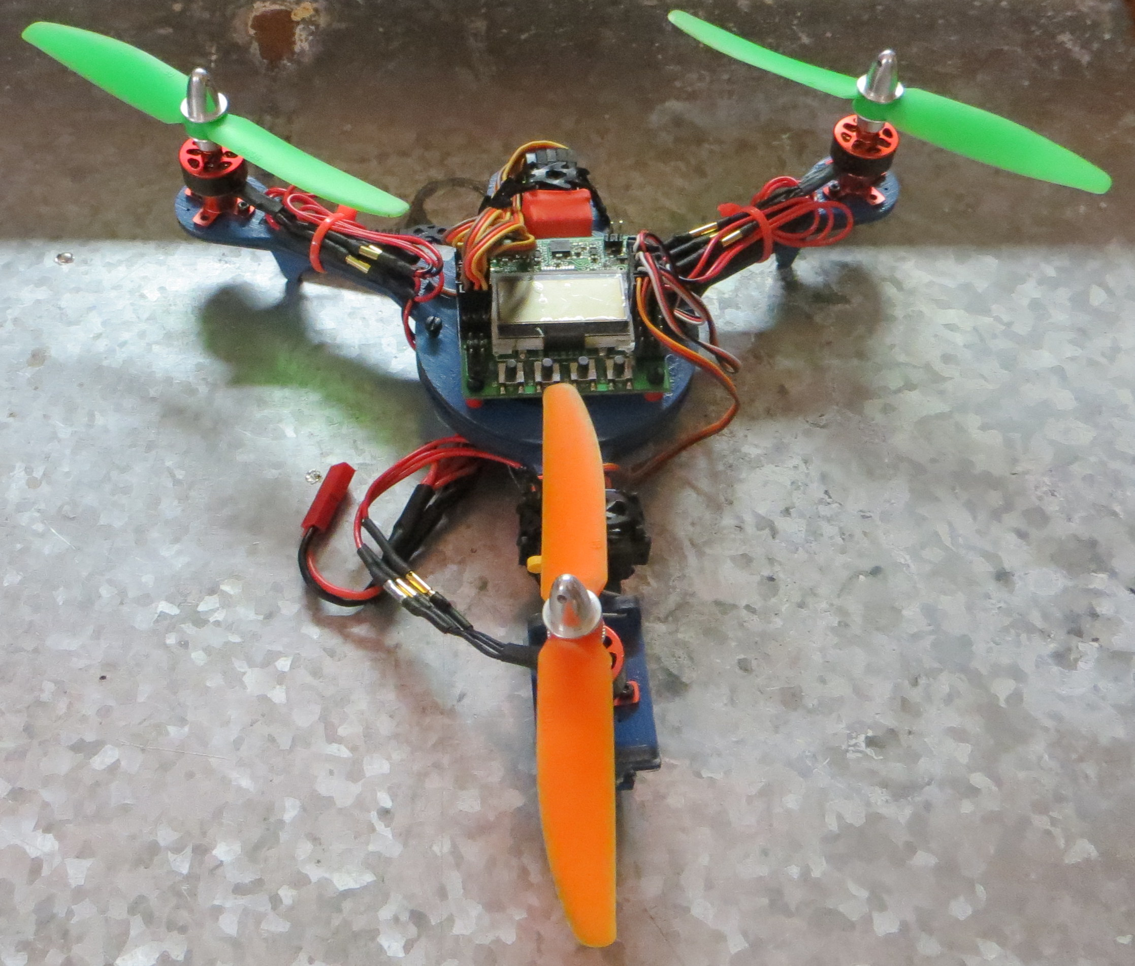 First Tricopter Build Blueskyrc Micro Tricopter