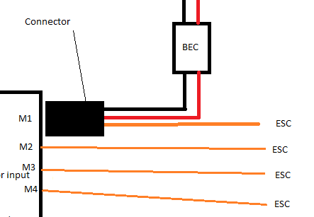 Question about BEC setup on a Acro Naze32 board.