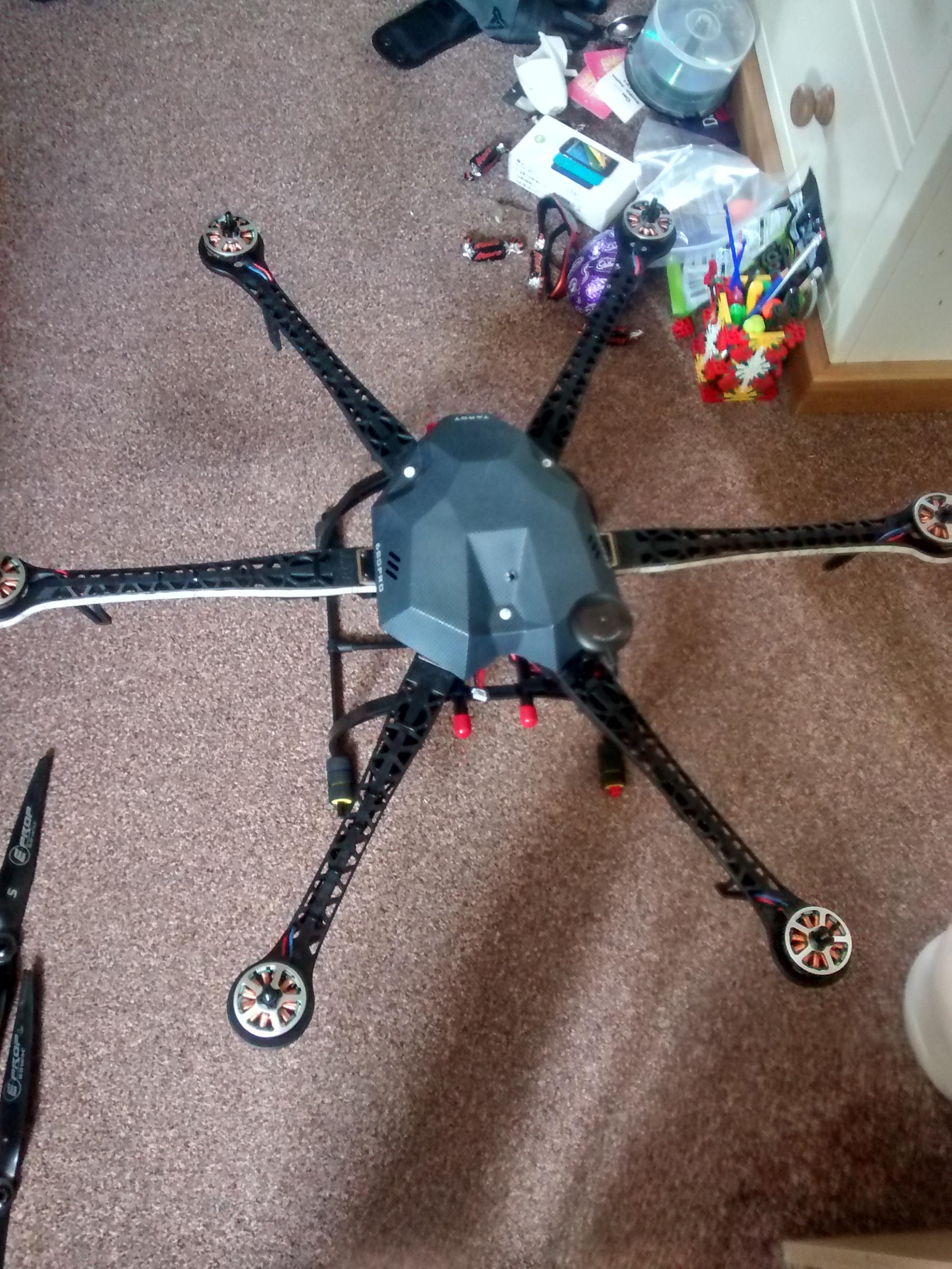 Help please, Hexacopter wont lift off | FliteTest Forum