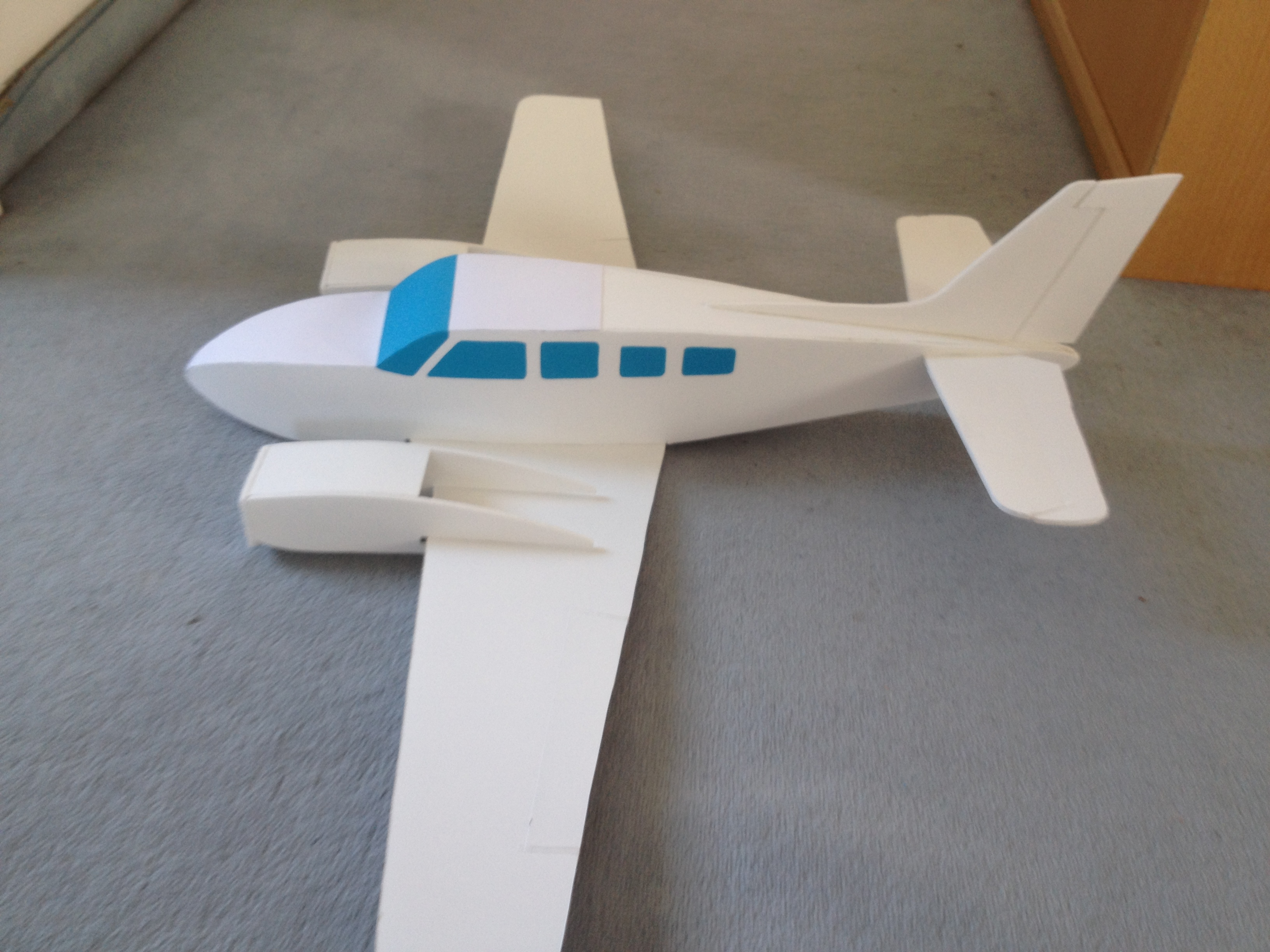 Mini Beechcraft Baron G58 - Opinions and suggestions