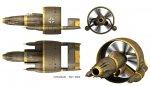 Aerodyne R02 US NAVY 1944 ver scifi aircraft ww2_digital_art 6.jpg