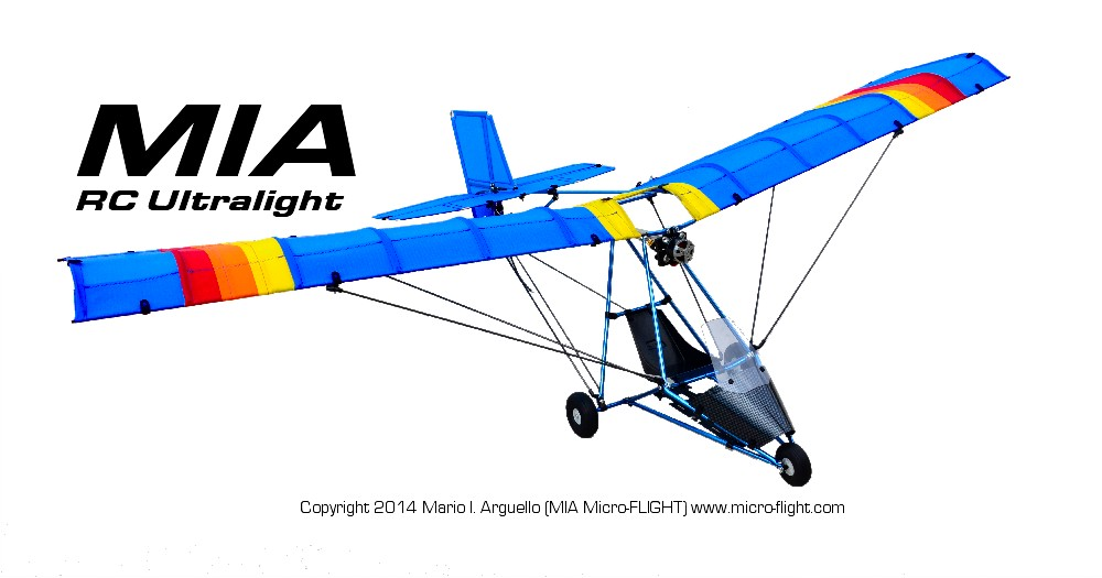 Unique RC Models From MIA Micro-FLIGHT: Microlights