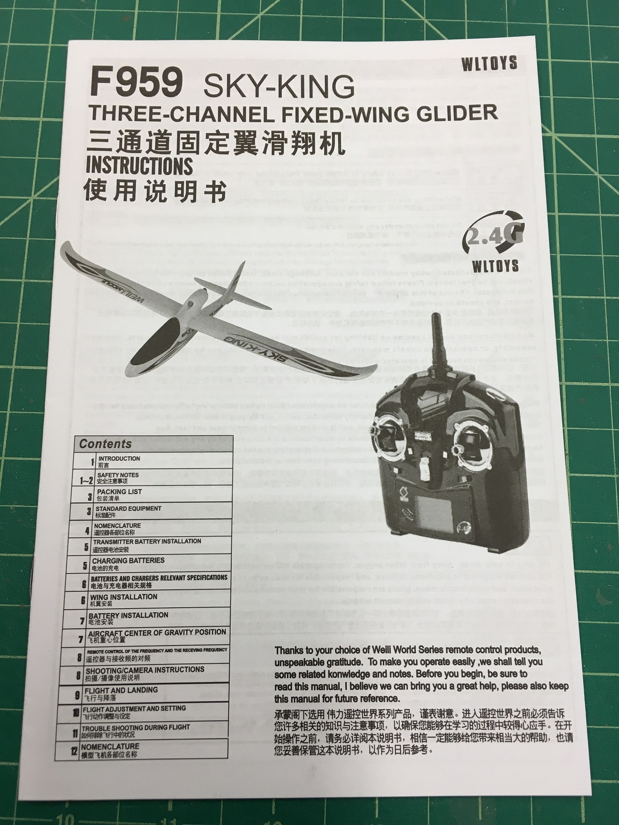 WLtoys F-959 Sky-King from Gearbest | FliteTest Forum