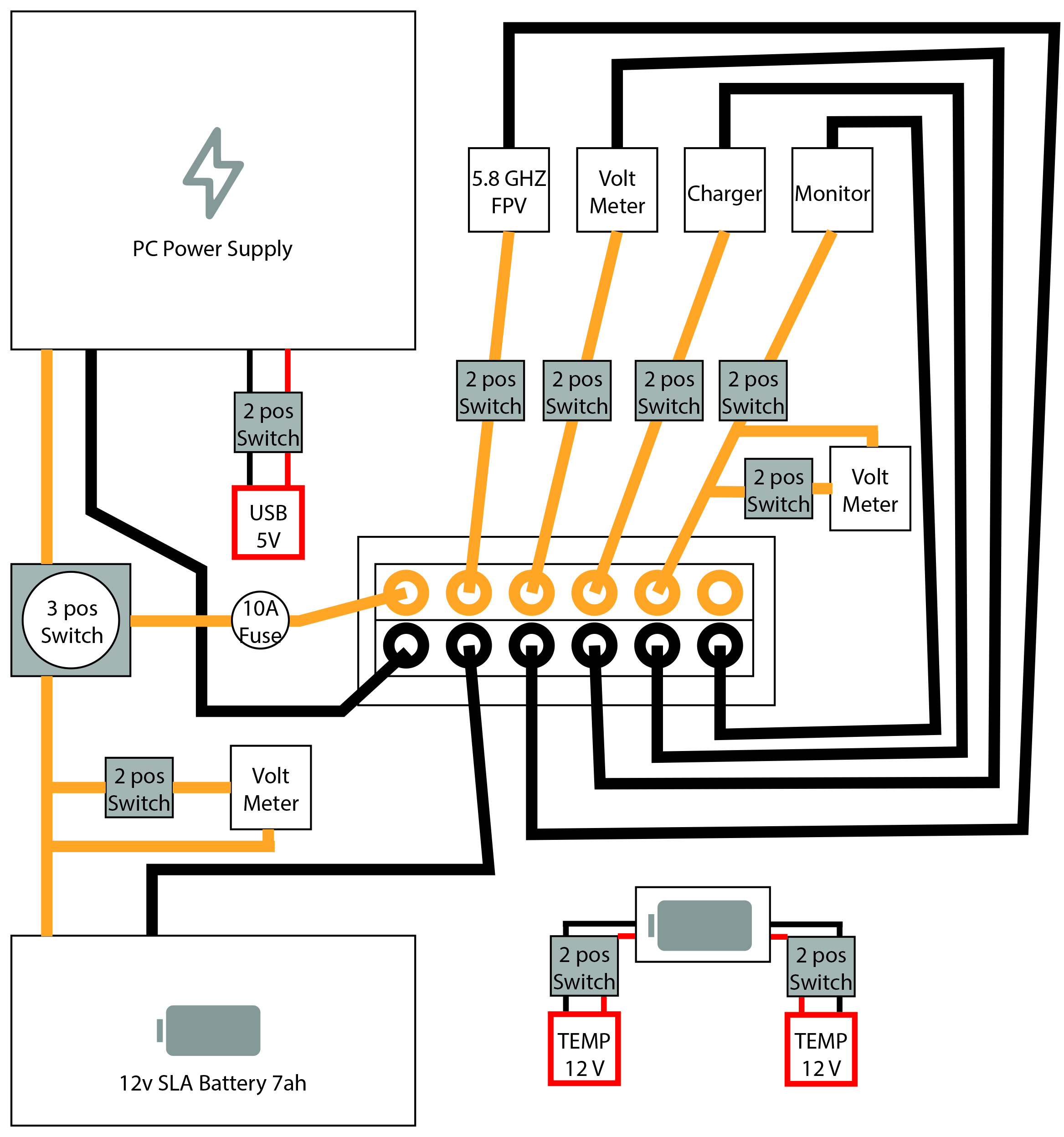 Help With Ground Station Wiring Diagram