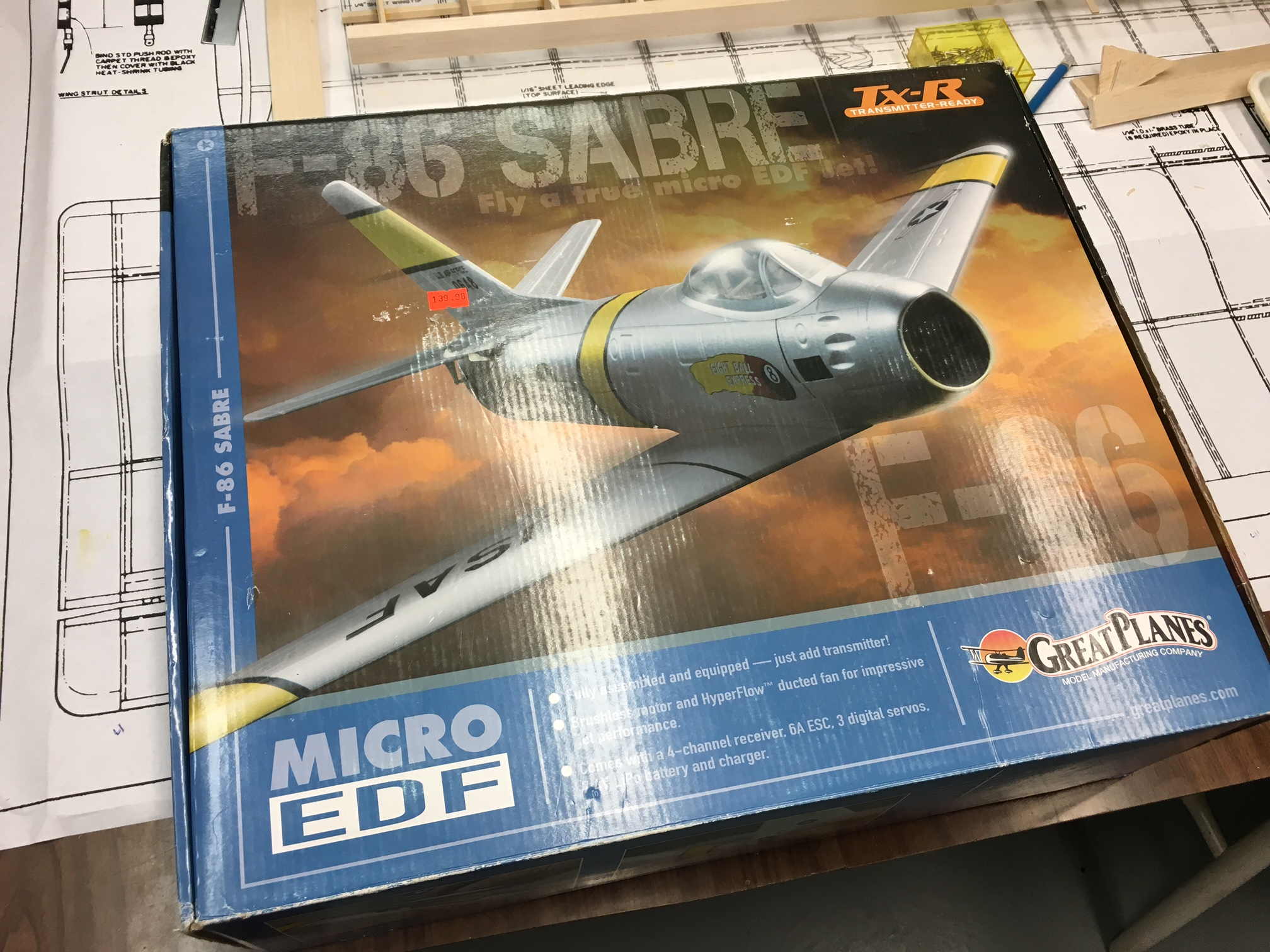 F-86 Micro from Great Planes, for TRADE   FliteTest Forum