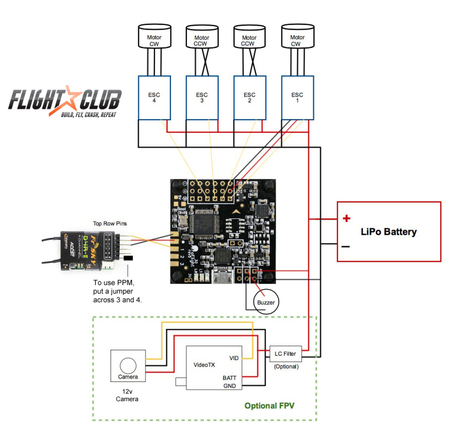 help i m getting frustrated rev6 afroflight not connecting rh forum flitetest com 3-Way Switch Wiring Diagram Schematic Diagram