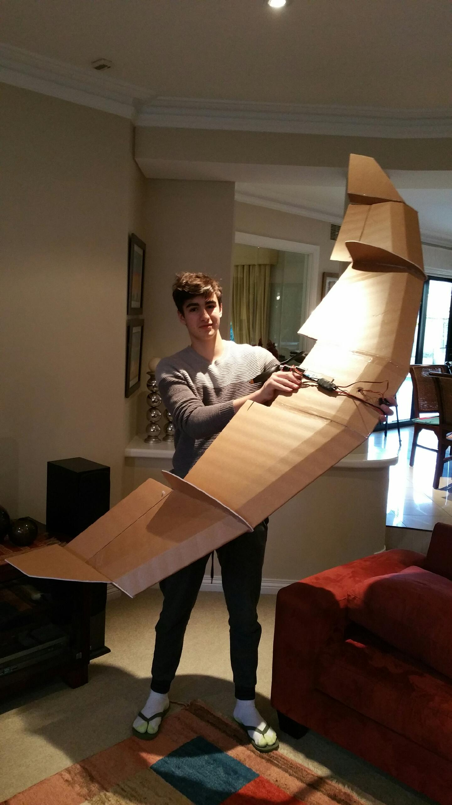 Hey Everyone My First Fpv Wing Design Any Tips Flitetest Forum