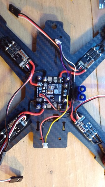 Motors twitching with transmitter, but not twitching when in