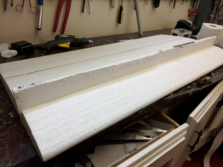 200% FT-Bronco - Hot cut home depot insulation | FliteTest Forum