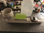 17 Fuselage sides and top glued and weighted down Mar 11, 12 16 35 AM.jpg
