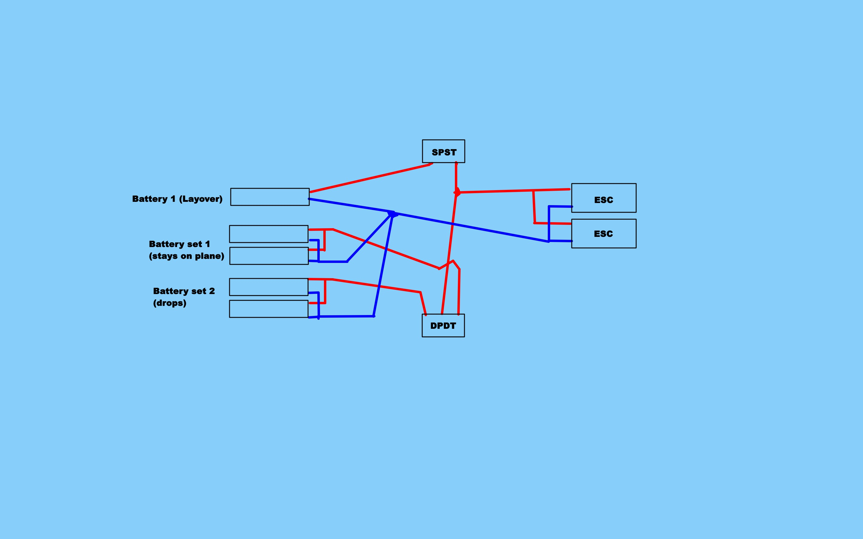 Will this complex battery transfer wiring setup work? | FliteTest Forum