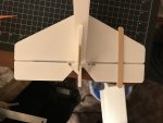 36 Imobilized the control surfaces and installed control horns and tail skid Mar 16, 8 17 12 PM.jpg