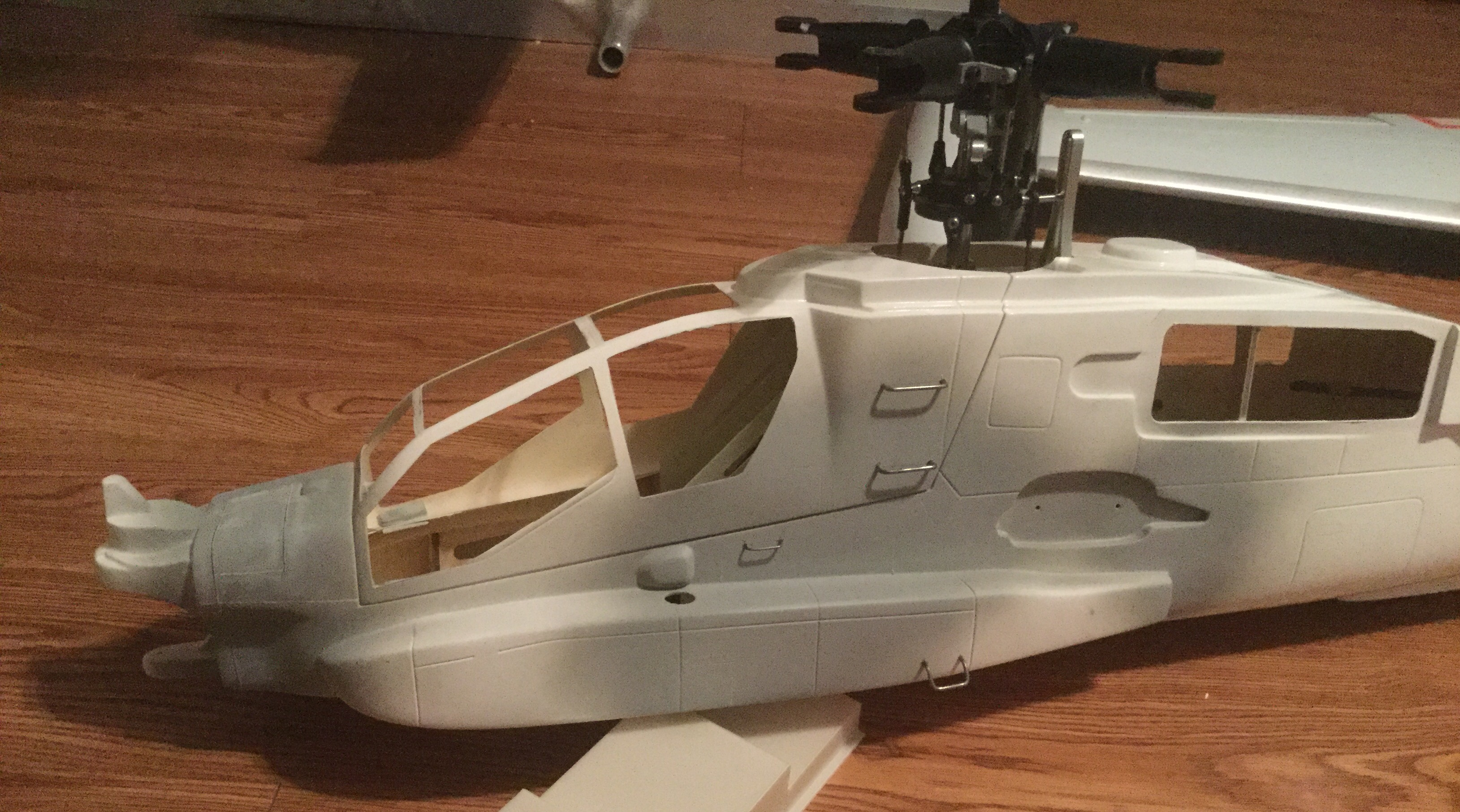 Rc Cobra Helicopter Fuselage