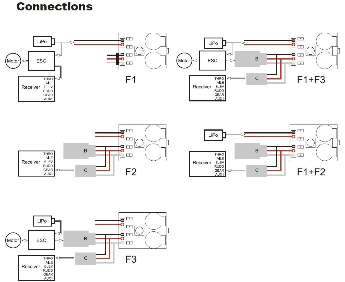 connecting a lost model alarm    voltage alarm on femto f3