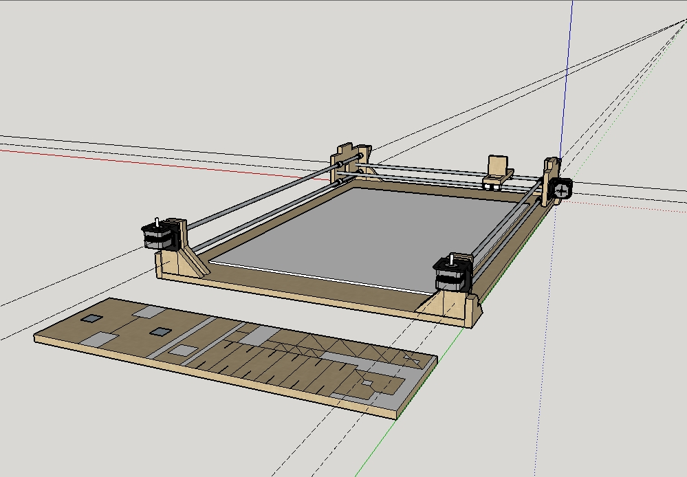 arduino wiring diagram, reprap wiring diagram, hardware wiring diagram,  extruder wiring diagram,