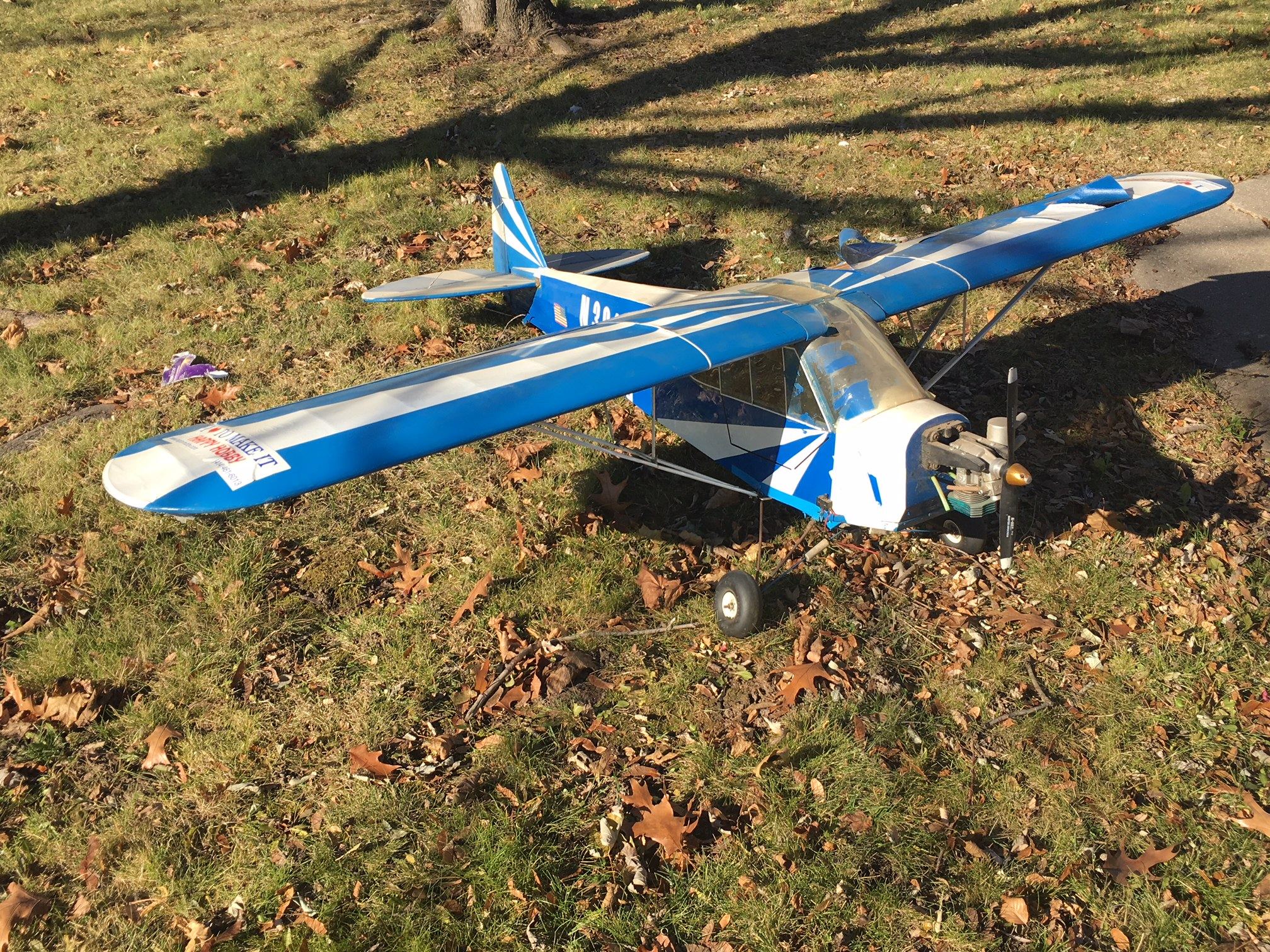 1/4 Scale Cubs - Sig and Balsa USA, Rescue and Re-Build