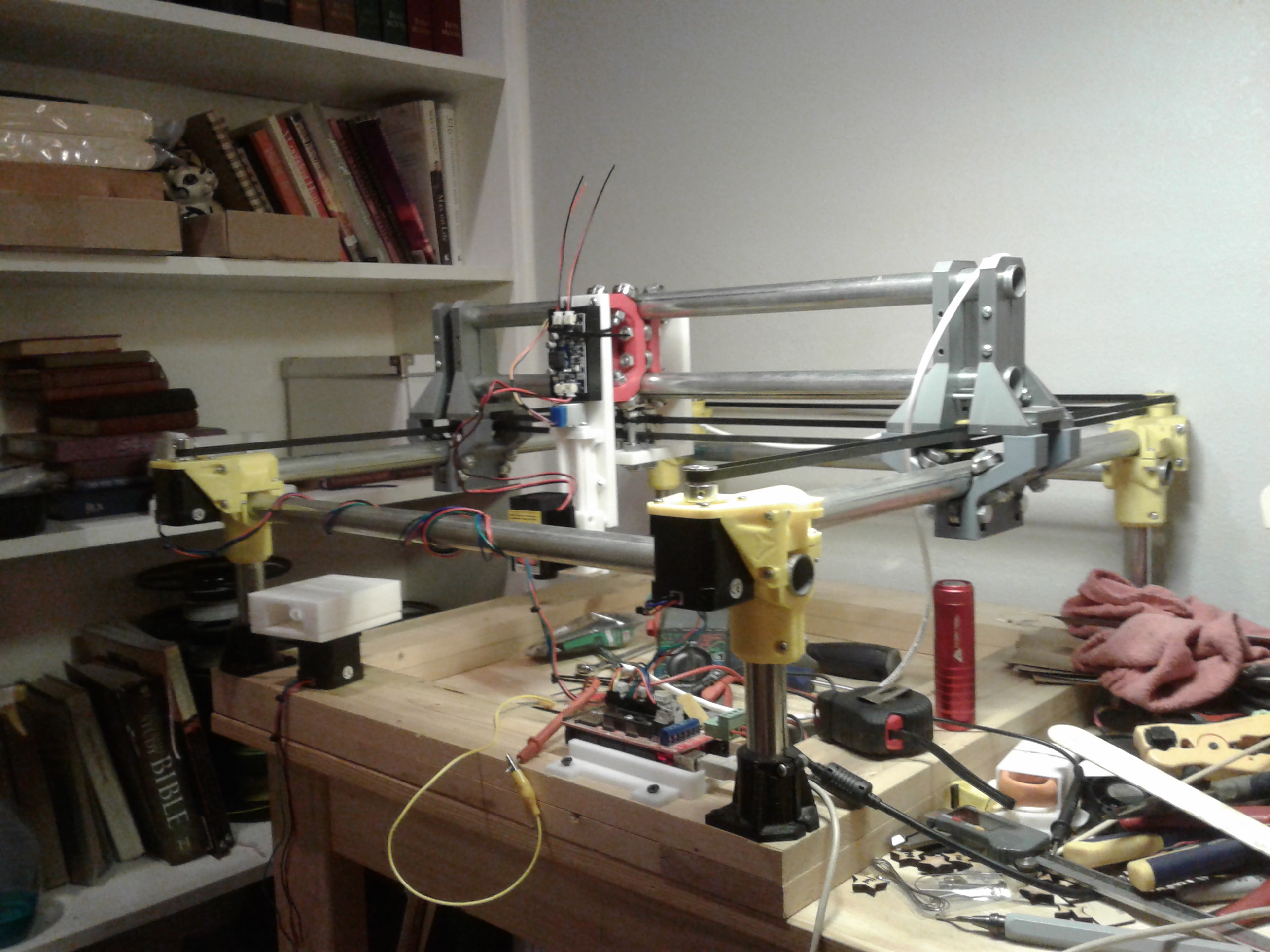 MPCNC-inspired CoreXY laser engraver | FliteTest Forum