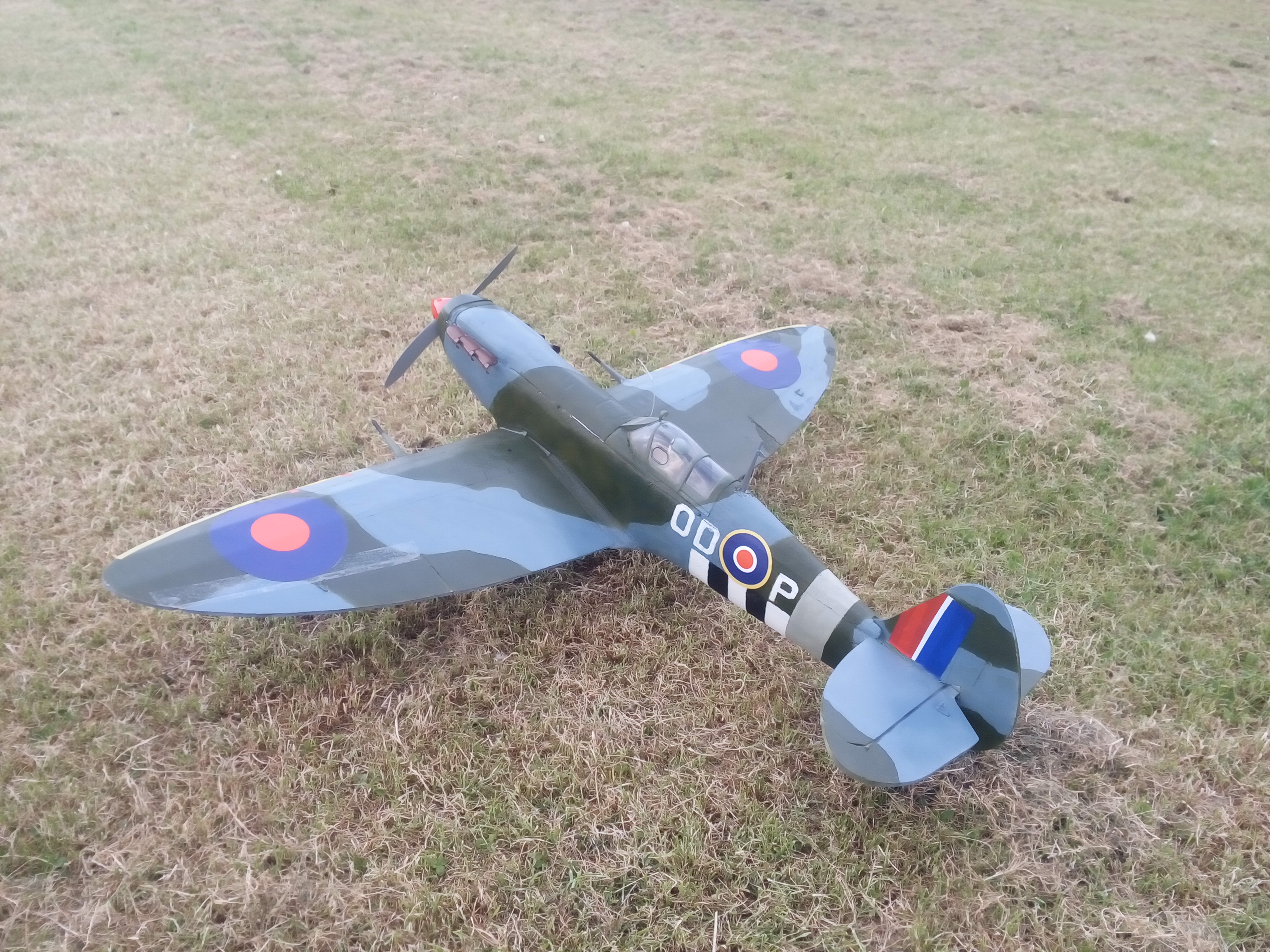 FT Spitfire rebuild with new nosecone fairing | FliteTest Forum