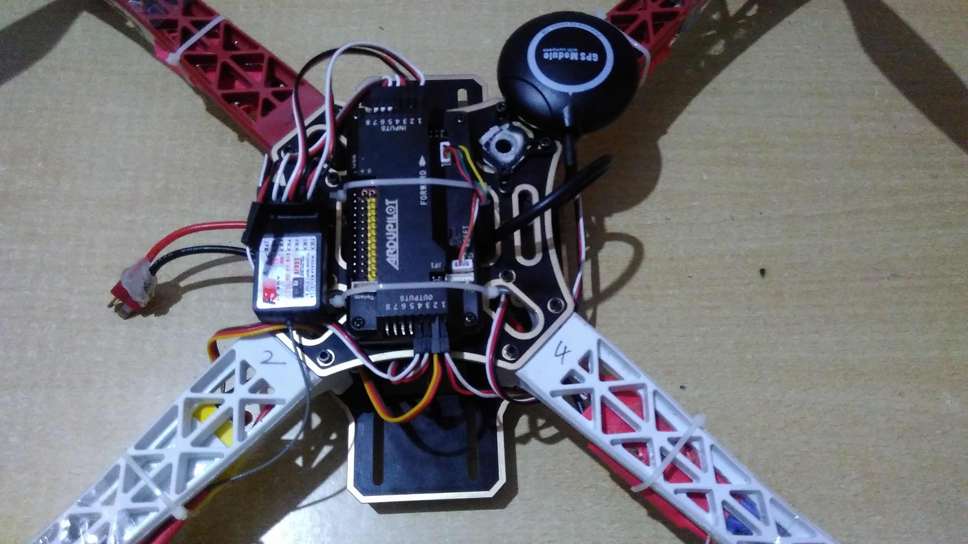 Help! - Quadcopter motors not spinning at same time