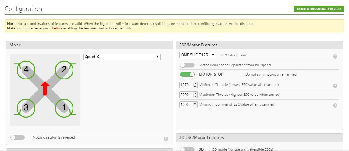 Naze32 Compatible Cleanflight Firmware | FliteTest Forum