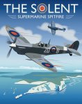 GIBS36-The-Solent-Supermarine-Spitfire-Isle-of-Wight-by-Chris-Gibson-Aviation-poster.jpg