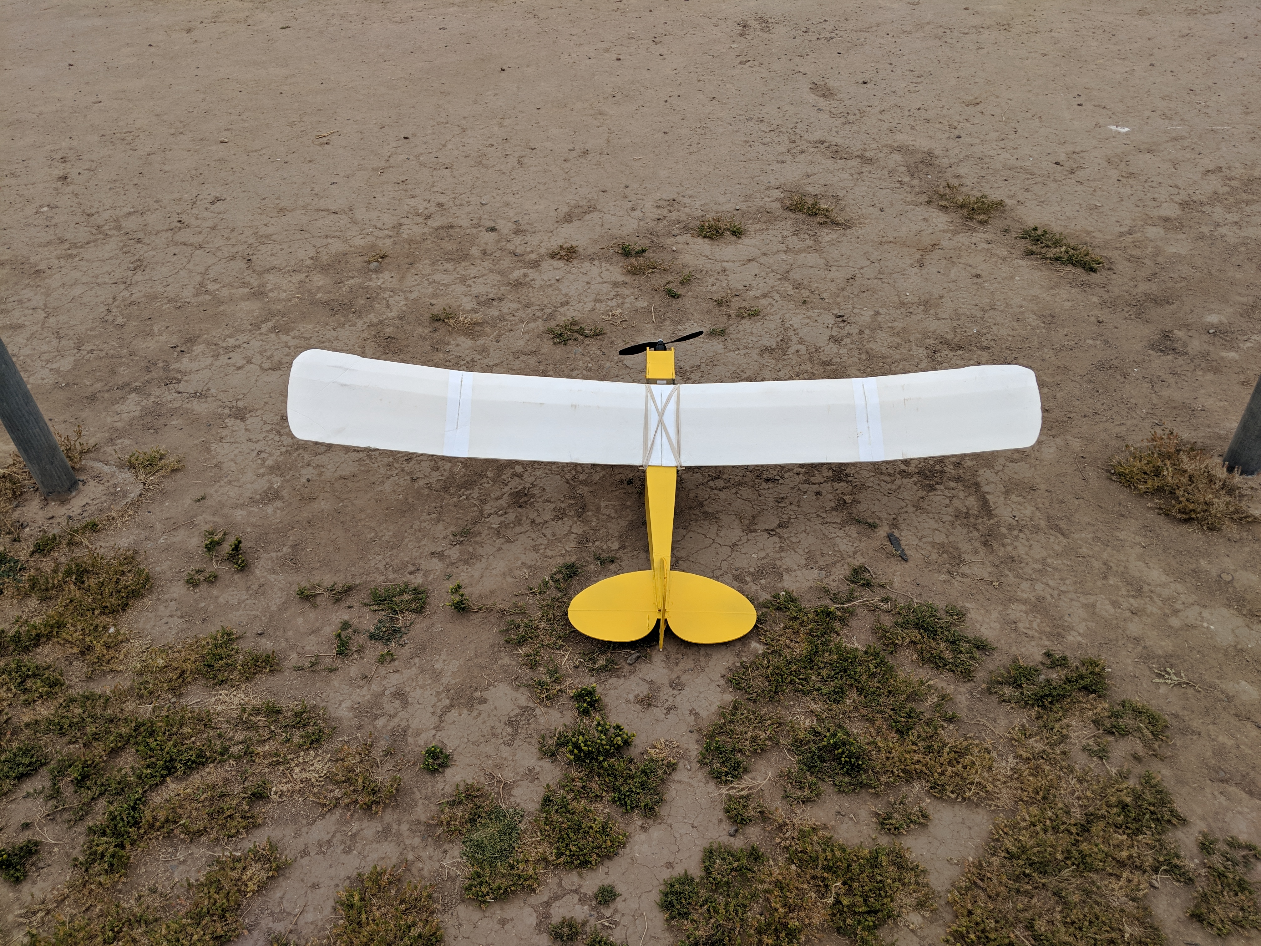 Simple Cub with Simple Soarer wing | FliteTest Forum