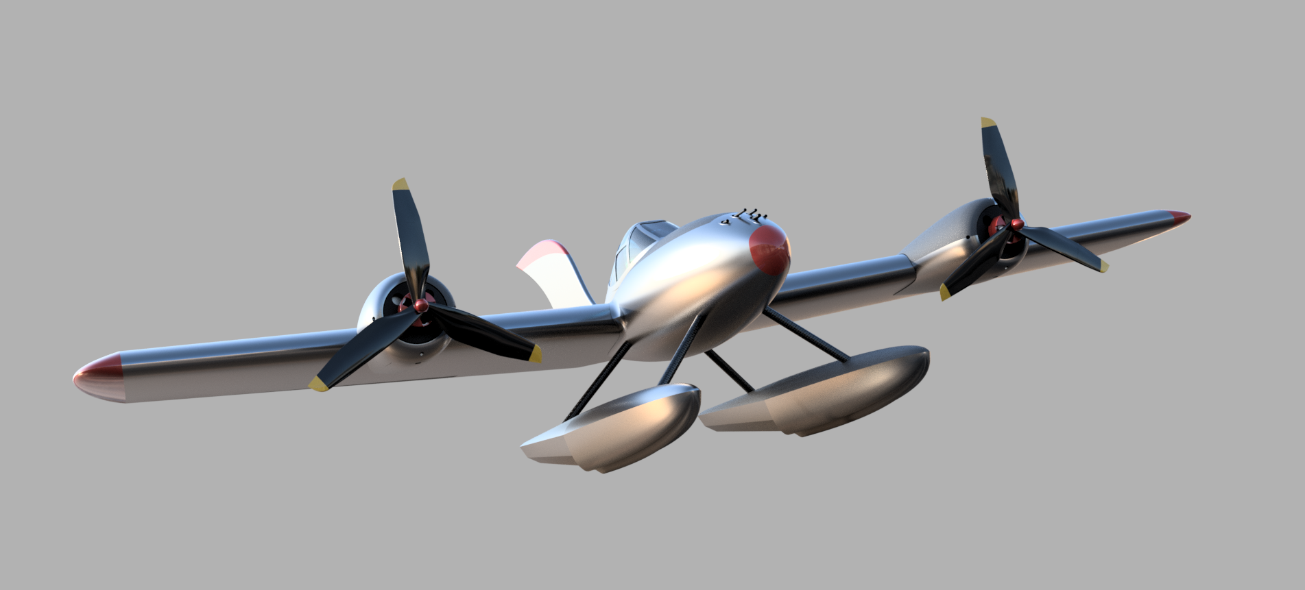 3D Printed Twin Pike v22-Floats2.png
